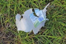 Mowing Trash Bottle 5